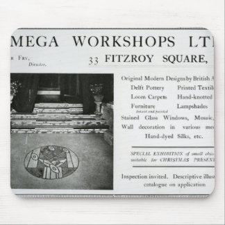 Adverisement for the Omega Workshops Ltd Mouse Pad