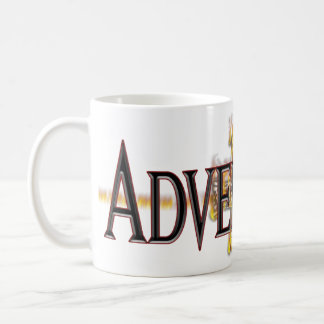 Adversary logo mug