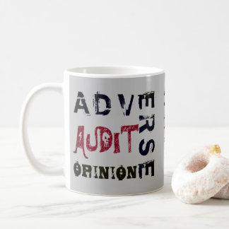 """Adverse Audit Opinion"" Coffee Mug"