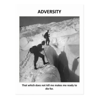 adversity-that-which-does-not-kill-me-makes-me postcard