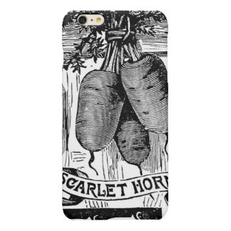Advert 4 vintage carrots glossy iPhone 6 plus case