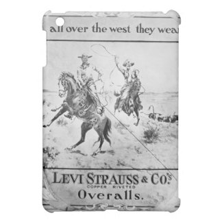 Advert for Levi Strauss & Co, c.1900 (litho) Cover For The iPad Mini