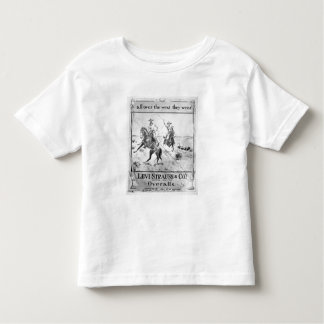 Advert for Levi Strauss & Co, c.1900 (litho) Toddler T-shirt