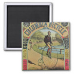 Advert for the Columbia Bicycle 2 Inch Square Magnet