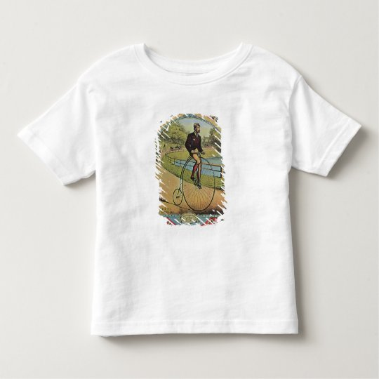 Advert for the Columbia Bicycle Toddler T-shirt