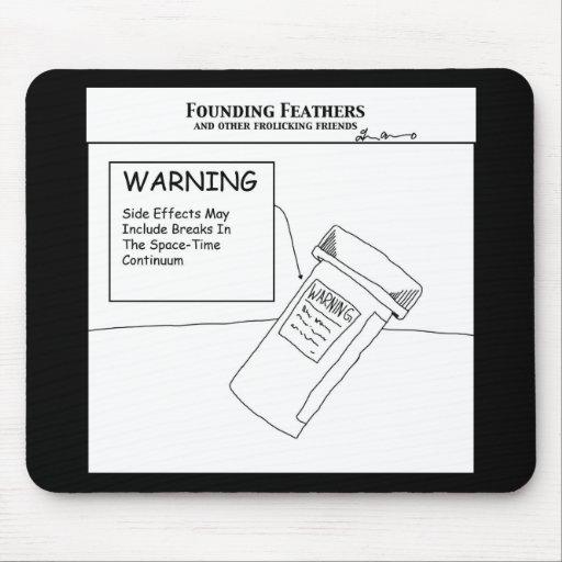 Advertencia Alfombrillas De Ratones