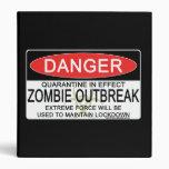 Advertencia - brote del zombi