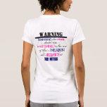 Advertencia Camisetas