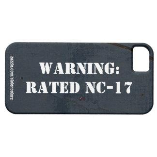 Advertencia: Caso clasificado de NC-17 Iphone 5 Funda Para iPhone SE/5/5s