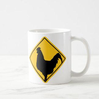 Advertencia; ¡Chulo! Taza Clásica