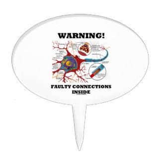 ¡Advertencia! Conexiones culpables dentro de la si Decoración De Tarta