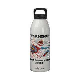 ¡Advertencia! Conexiones culpables dentro de la si Botallas De Agua