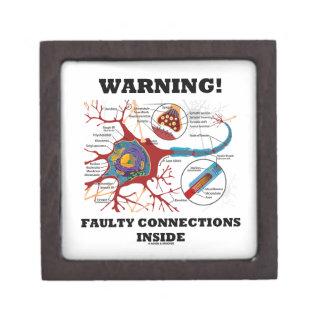 ¡Advertencia! Conexiones culpables dentro de la si Cajas De Recuerdo De Calidad