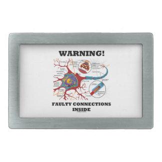 ¡Advertencia! Conexiones culpables dentro de la si Hebillas Cinturón