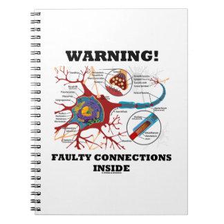 ¡Advertencia! Conexiones culpables dentro de la si Libreta Espiral