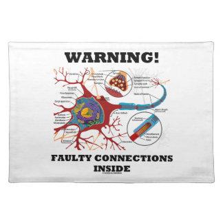 ¡Advertencia! Conexiones culpables dentro de la si Mantel Individual
