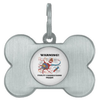 ¡Advertencia! Conexiones culpables dentro de la si Placas De Nombre De Mascota