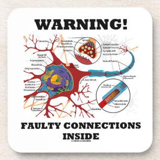 ¡Advertencia! Conexiones culpables dentro de la si Posavasos De Bebida
