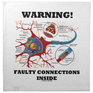 ¡Advertencia! Conexiones culpables dentro de la si Servilleta Imprimida