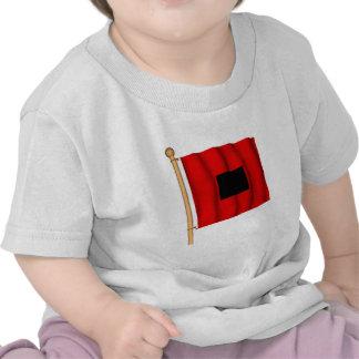 Advertencia de la fuerza del vendaval camisetas