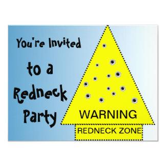 Advertencia de la invitación del fiesta del