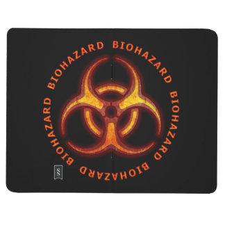 Advertencia del Biohazard Cuadernos Grapados