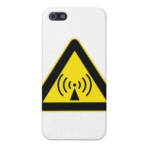 ADVERTENCIA DEL EMF iPhone 5 CARCASAS