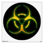Advertencia del zombi del Biohazard