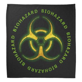 Advertencia del zombi del Biohazard Bandanas