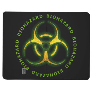 Advertencia del zombi del Biohazard Cuaderno