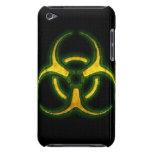 Advertencia del zombi del Biohazard iPod Case-Mate Funda