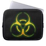 Advertencia del zombi del Biohazard Fundas Ordendadores