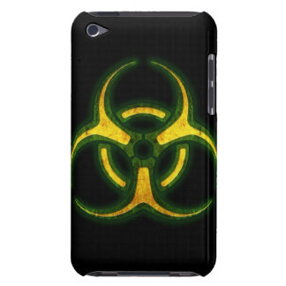 Advertencia del zombi del Biohazard Funda iPod