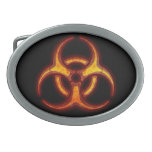 Advertencia del zombi del Biohazard Hebilla Cinturón