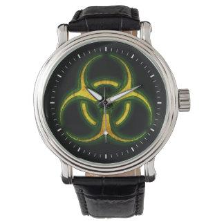 Advertencia del zombi del Biohazard Relojes