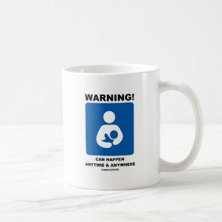 ¡Advertencia! El amamantamiento puede suceder en Taza