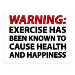 Advertencia: El ejercicio se ha sabido para causar Tarjeta Postal