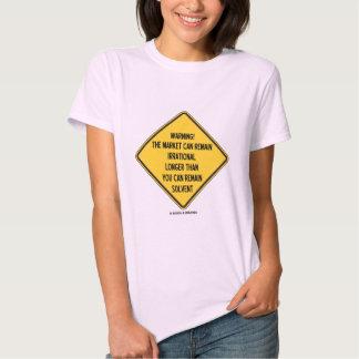 ¡Advertencia! El mercado puede seguir siendo más Camisas