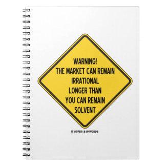 ¡Advertencia! El mercado puede seguir siendo más Libros De Apuntes