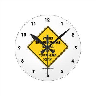 ¡Advertencia! El mercado puede seguir siendo más Reloj Redondo Mediano