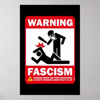Advertencia: Fascismo Impresiones