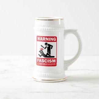 Advertencia: Fascismo Taza De Café