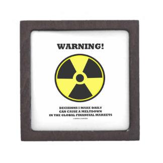 ¡Advertencia! Fusión diaria de la causa de la Caja De Regalo De Calidad
