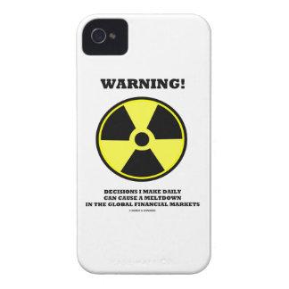 ¡Advertencia! Fusión diaria de la causa de la Carcasa Para iPhone 4
