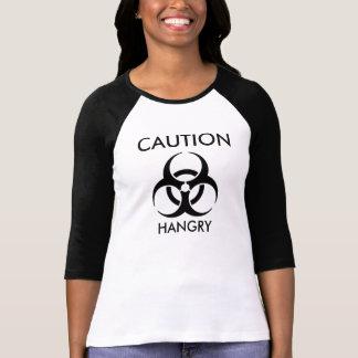 Advertencia - Hangry Camiseta