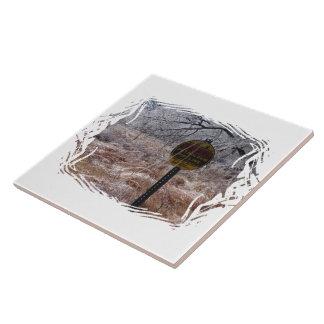 Advertencia helada de la tubería del petróleo tejas  cerámicas