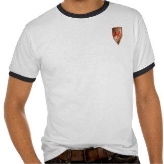 ADVERTENCIA: Hombre conservador cristiano blanco Camiseta