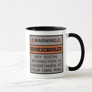 ¡Advertencia! ¡Homeschooled!