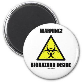 ¡Advertencia Interior del Biohazard humor de la Imán Para Frigorifico