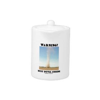 ¡Advertencia! Interior del remolino de polvo (mete